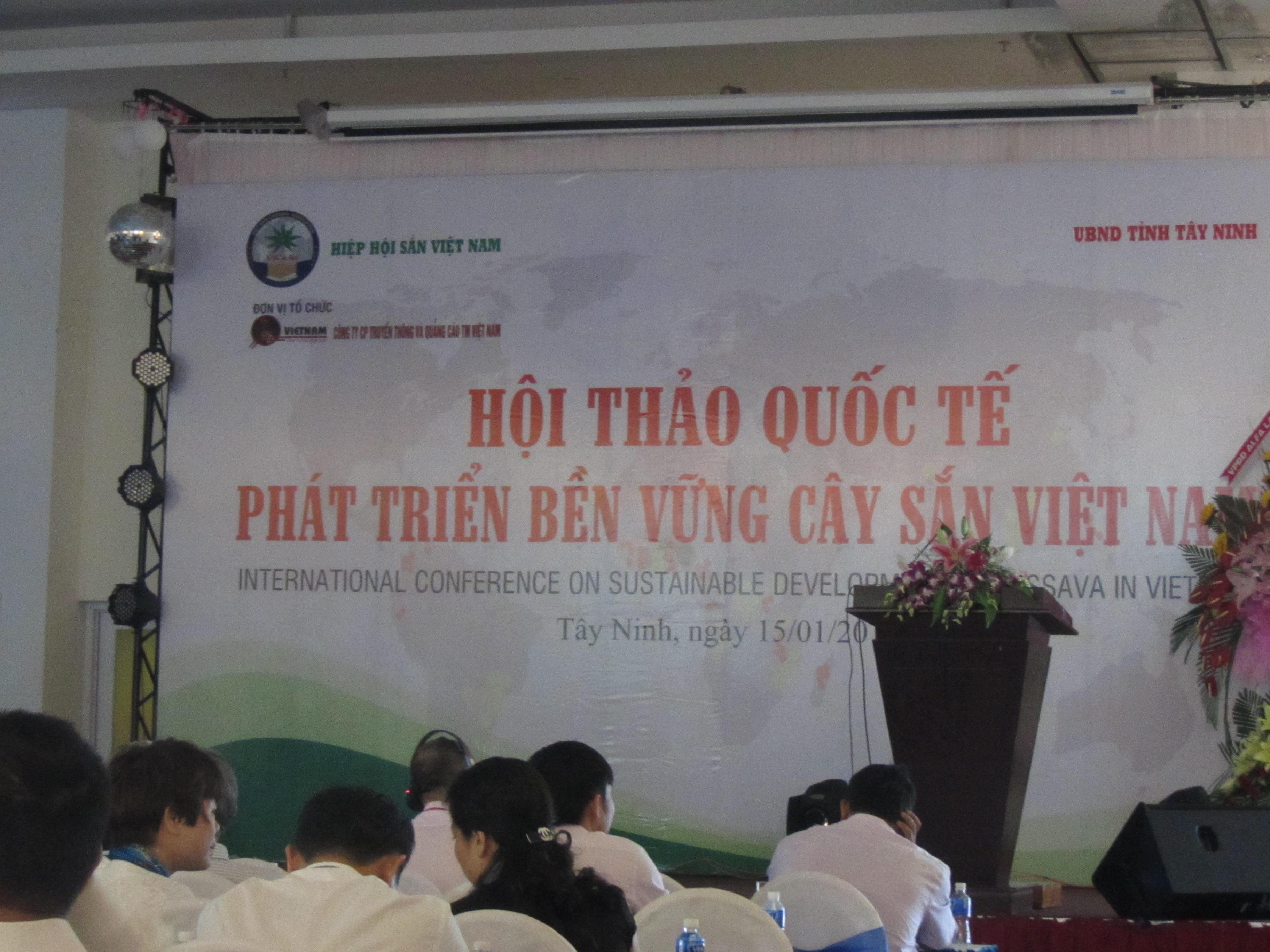 Hội thảo Quốc tế Phát triển sắn bền vững